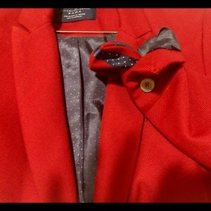 Zara TRF Collection Red Blazer